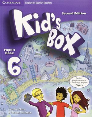 KID'S BOX 6ºEP FOR SPANISH SPEAKERS PUPIL'S BOOK 2ªED.