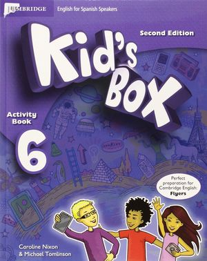 KID'S BOX 6 FOR SPANISH SPEAKERS LEVEL ACTIVITY BOOK WITH CD ROM