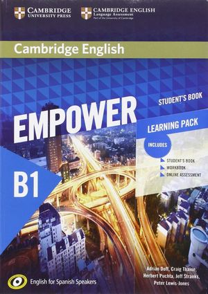 EMPOWER B1+ LEARNING PACK (STUDET¦S BOOK, WORBOOK...