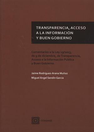 TRANSPARENCIA, ACESSO A LA INFORMACION Y BUEN GOBIERNO