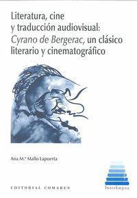 LITERATURA, CINE Y TRADUCCIÓN AUDIOVISUAL