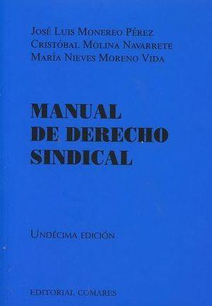 MANUAL DE DERECHO SINDICAL (2016)