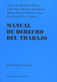 MANUAL DE DERECHO DEL TRABAJO (16ª ED.)