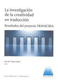 LA INVESTIGACIÓN DE LA CREATIVIDAD EN TRADUCCIÓN