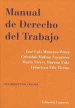 MANUAL DE DERECHO DEL TRABAJO (2019) 17ª EDIC.