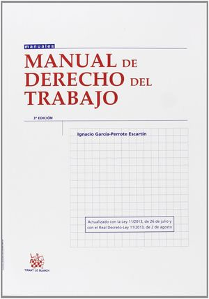 MANUAL DE DERECHO DEL TRABAJO