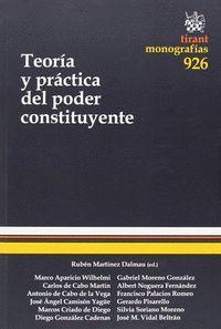 TEORÍA Y PRÁCTICA DEL PODER CONSTITUYENTE