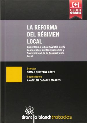 LA REFORMA DEL RÉGIMEN LOCAL
