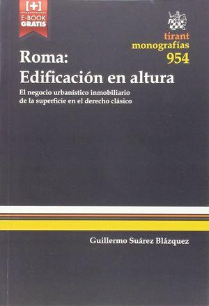 ROMA: EDIFICACION EN ALTURA