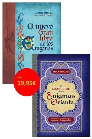 PACK EL NUEVO GRAN LIBRO DE LOS ENIGMAS + EL GRAN LIBRO DE LOS ENIGMAS DE ORIENT