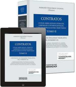 TOMO II. CONTRATOS DE FINALIDAD TRASLATIVA DEL DOMINIO II (PAPEL + E-BOOK)