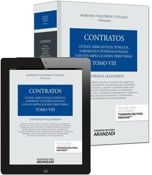 TOMO VIII. CONTRATOS ALEATORIOS (PAPEL + E-BOOK)