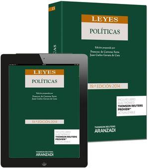 LEYES POLITICAS 2014 (PAPEL + E-BOOK)