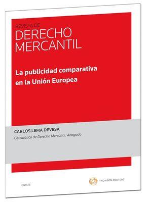 LA PUBLICIDAD COMPARATIVA EN LA UNIÓN EUROPEA