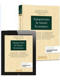 AGRUPACIONES DE INTERES ECONOMICO (PAPEL + E-BOOK)