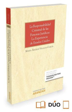 LA RESPONSABILIDAD CRIMINAL DE LAS PERSONAS JURIDICAS