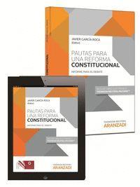 PAUTAS PARA UNA REFORMA CONSTITUCIONAL (PAPEL + E-BOOK)