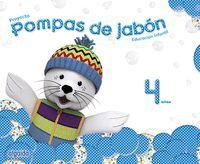 POMPAS DE JABÓN 4 AÑOS.