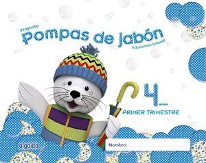 POMPAS DE JABON 4 AÑOS. 1º TRIMESTRE. PROYECTO EDUCACION INFANTIL