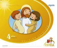 RELIGION. EDUCACION INFANTIL. ESTELA. 4 AÑOS