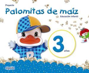 PALOMITAS DE MAÍZ. 3 AÑOS (PACK) EDUCACIÓN INFANTIL.