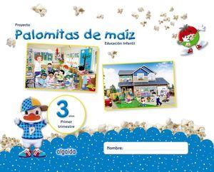 PALOMITAS DE MAÍZ 3 AÑOS 1ºTRIMESTRE EDUCACIÓN INFANTIL