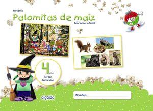 PALOMITAS DE MAÍZ 4 AÑOS 3º TRIMESTRE. EDUCACION INFANTIL