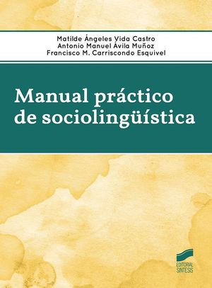 MANUAL PRACTICO DE SOCIOLINGUISTICA