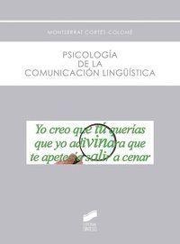 PSICOLOGIA DE LA COMUNICACION LINGUISTICA