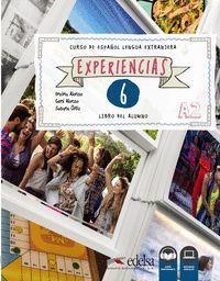 EXPERIENCIAS 6. A2. LIBRO DEL ALUMNO