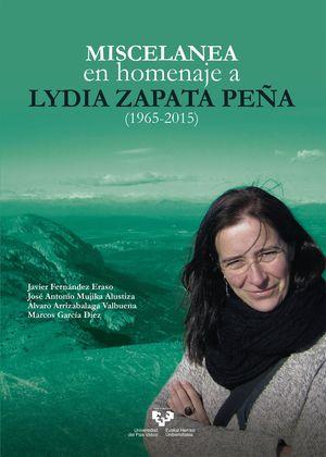 MISCELÁNEA EN HOMENAJE A LYDIA ZAPATA PEÑA (1965-2015)