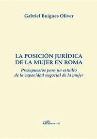 LA POSICIÓN JURÍDICA DE LA MUJER EN ROMA