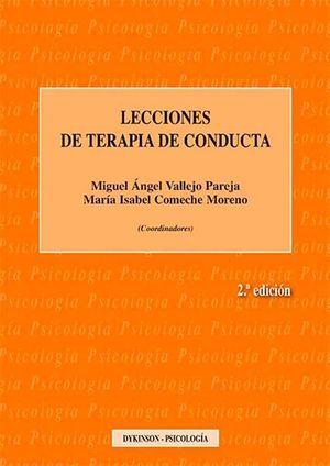 LECCIONES DE TERAPIA DE CONDUCTA 2ª EDIC.