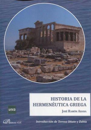 HISTORIA DE LA HERMENEUTICA GRIEGA