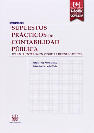 SUPUESTOS PRÁCTICOS DE CONTABILIDAD PÚBLICA