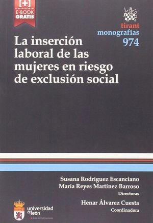 LA INSERCION LABORAL MUJERES EN RIESGO DE EXCLUSION SOCIAL