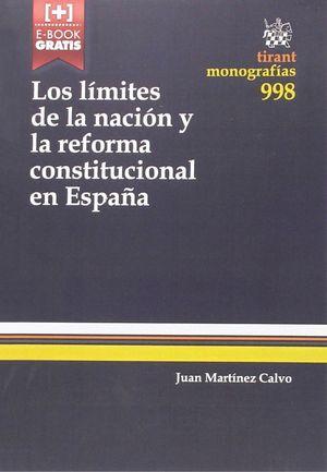 LOS LIMITES DE LA NACION Y LA REFORMA CONSTITUCIONAL EN ESPAÑA