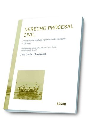 DERECHO PROCESAL CIVIL (4.ª EDICION)