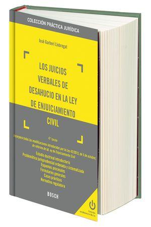 LOS JUICIOS VERBALES DE DESAHUCIO EN LA LEY DE ENJUICIAMIENTO