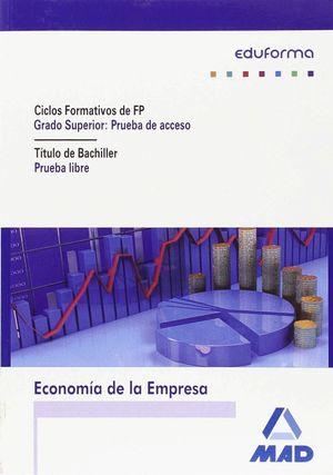 ECONOMIA DE LA EMPRESA ACCESO GRADO SUPERIOR CF.