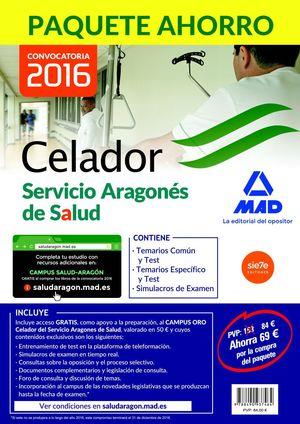 CELADOR SERVICIO ARAGONES DE SALUD (PAQUETE AHORRO-3 VOLUMENES)