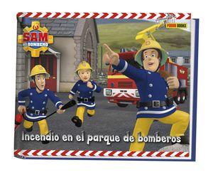 INCENDIO EN EL PARQUE DE BOMBEROS