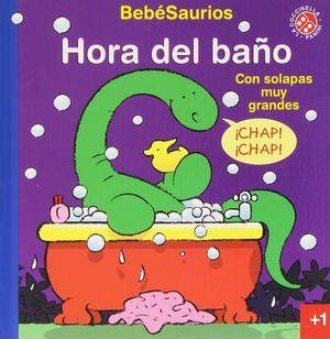 HORA DEL BAÑO (CON SOLAPAS MUY GRANDES)