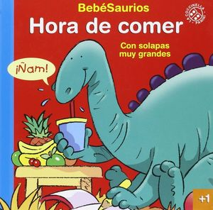 HORA DE COMER (CON SOLAPAS MUY GRANDES)