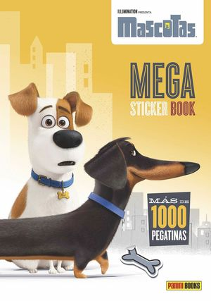 MASCOTAS MEGA STICKER BOOK