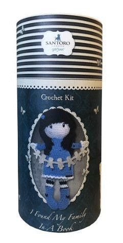 CROCHET KIT I FOUND MY FAMILY IN A BOOK
