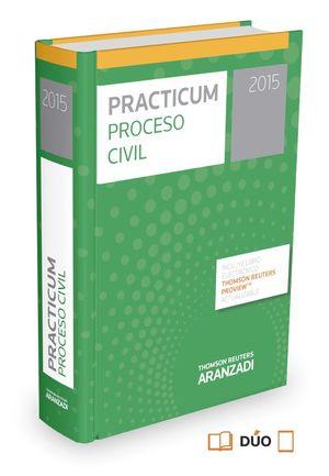 PRACTICUM PROCESO CIVIL 2015 (PAPEL + E-BOOK)
