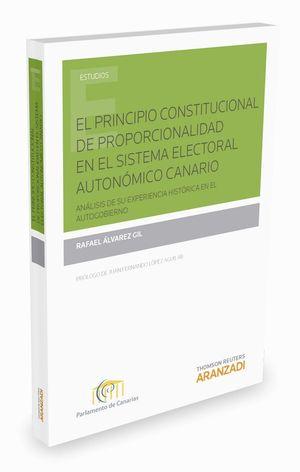 EL PRINCIPIO CONSTITUCIONAL DE PROPORCIONALIDAD EN EL SISTEMA ELE