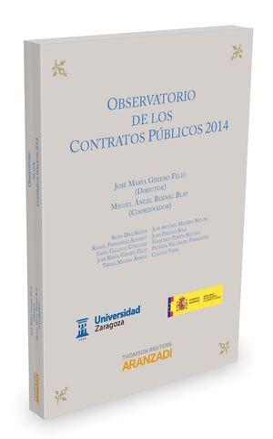 OBSERVATORIO DE LOS CONTRATOS PUBLICOS 2014