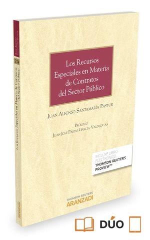 LOS RECURSOS ESPECIALES EN MATERIA DE CONTRATOS DEL SECTOR PUBLIC
